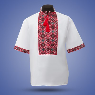 "Embroidered shirt ""Classic Summer"""