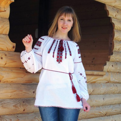 "Embroidered blouse ""Iryna"""