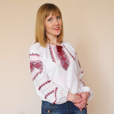 "Embroidered blouse ""Ksenia"""