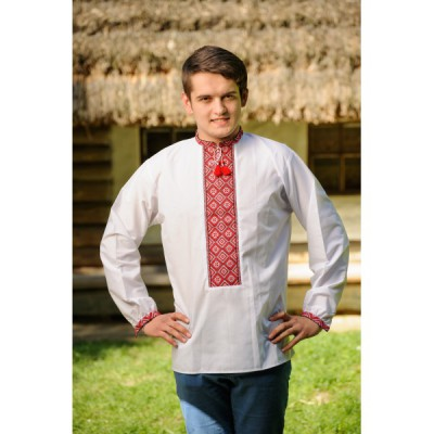 """Embroidered shirt """"Traditional"""""""