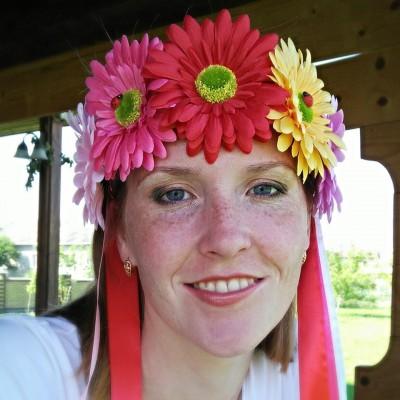 """Ukrainian Wreath """"Daisies"""""""