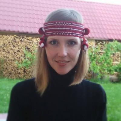 "Ukrainian Chiltse ""Strawberry"""