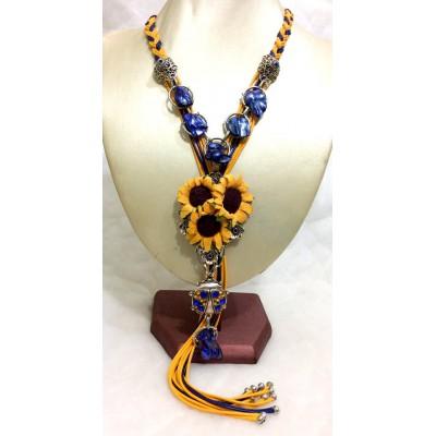 "Necklace ""Ukrainian Summer"""