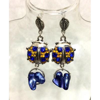 """Earrings """"Ukrainian Summer"""""""