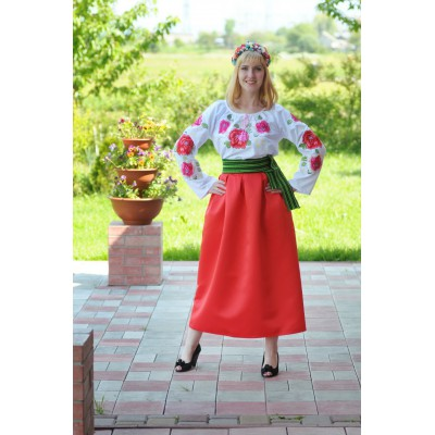 Look 1 (Blouse + Skirt + Krayka + Wreath)