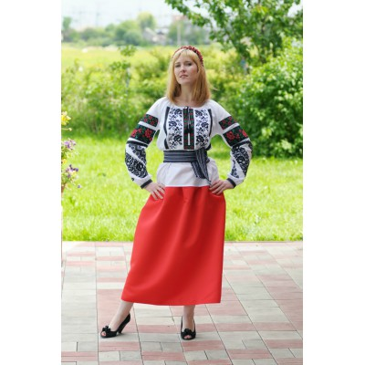 Look 6 (Blouse + Skirt + Krayka + Wreath)