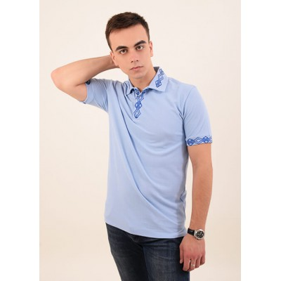 "Embroidered t-shirt for men ""Leader 1"""