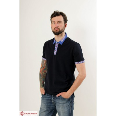 "Embroidered t-shirt for men ""Leader 3"""