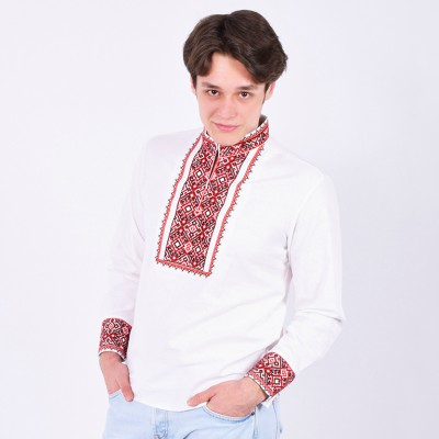 """Embroidered shirt """"Hetmans 1"""""""