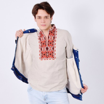 """Embroidered shirt """"Hetmans 3"""""""