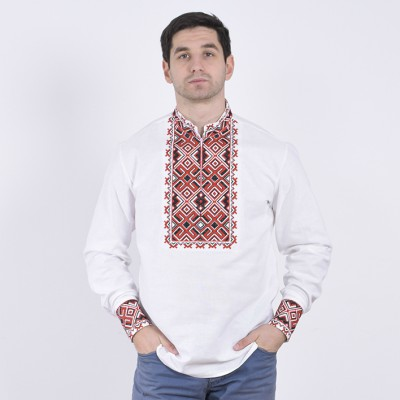 """Embroidered shirt """"Hetmans 4"""""""