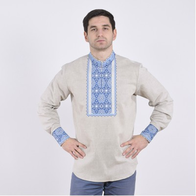 """Embroidered shirt """"Hetmans 5"""""""