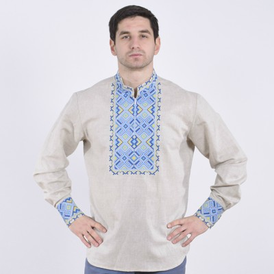 """Embroidered shirt """"Hetmans 7"""""""