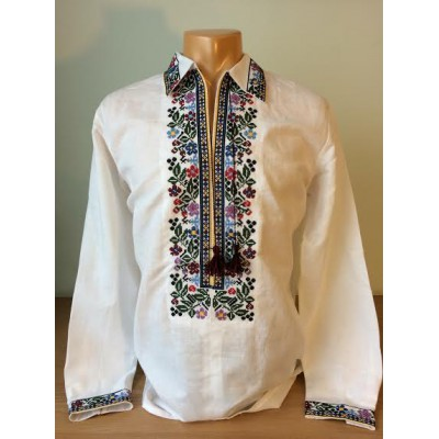"""Embroidered shirt """"Olvia Flowers"""""""