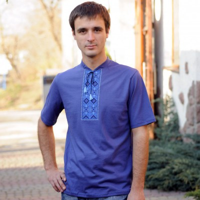"""Embroidered t-shirt for man """"Odessa"""""""