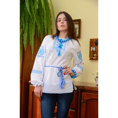 "Embroidered blouse ""Cool Breeze"""