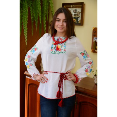 "Embroidered blouse ""Cute Flowers"""