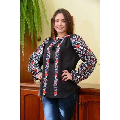 "Embroidered blouse ""Christmas Night"""