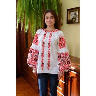 "Embroidered blouse ""Pure Love"""