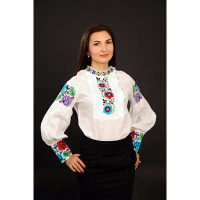 "Embroidered blouse ""Borshchiv Ornament"""