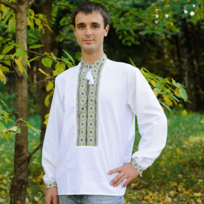"""Embroidered shirt """"Cossac's song"""""""