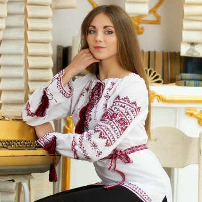 "Embroidered blouse ""Beauty"""
