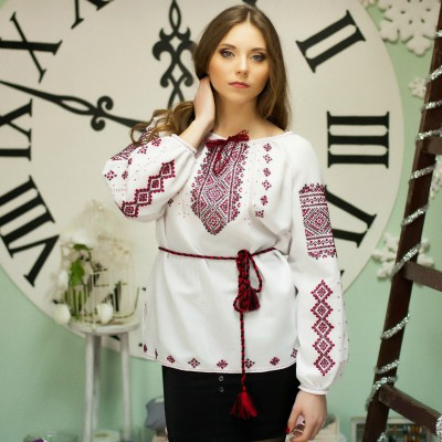 "Embroidered blouse ""Ethnic Design"""