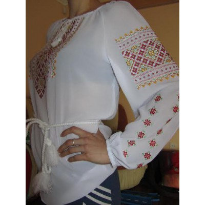 "Embroidered  blouse ""Festival"""