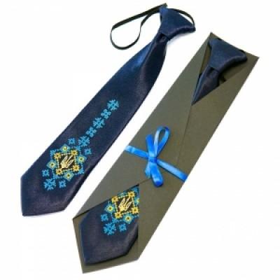 "Embroidered tie for a boy ""Malay"""