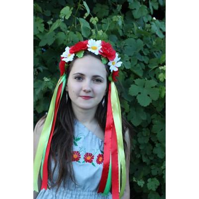 "Ukrainian Wreath ""Chamomile"""