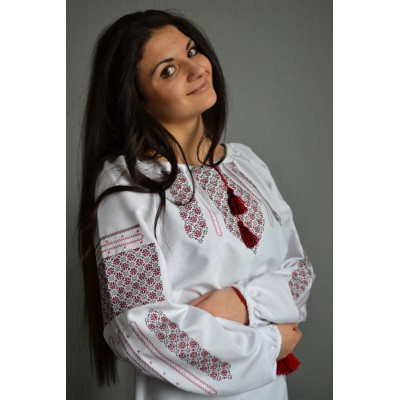 """Embroidered  blouse """"Smiling Summer"""""""
