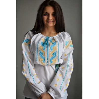 "Embroidered  blouse ""Ukrainian Pride"""
