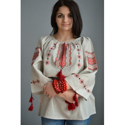 "Embroidered  blouse ""Traditional Beauty 2"""
