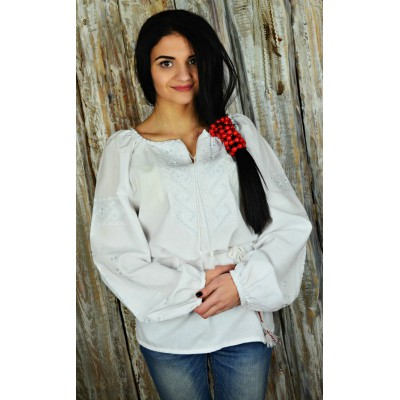 "Embroidered blouse ""Dew Drop"""