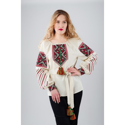 "Embroidered Blouse ""Gentleness of Spring"""